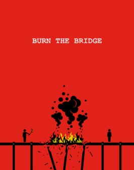 declining an interview and not burning the bridge.